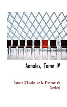 Book Annales, Tome IV