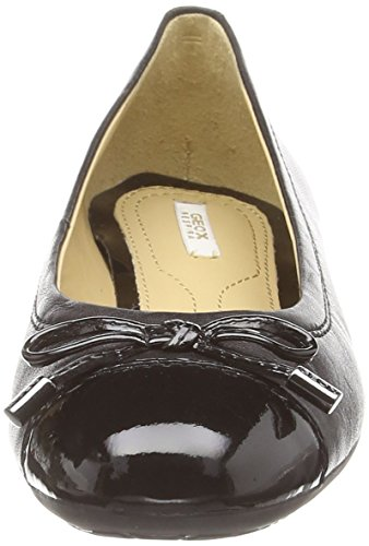 Geox D Lola A - Quilted - Bailarinas para mujer Negro (black)
