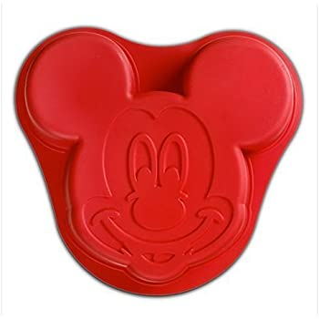 Amazon.com: Wilton Aluminum Mickey Mouse Cake Pan: Novelty