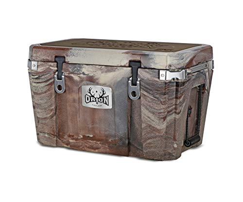 Orion Heavy Duty Premium Cooler (55 Quart, Desert), Durable Insulated Outdoor Ice Chest for Maximum Cold Retention - Portable, Bear Resistant, and Long Lasting, Great for Hunting, Fishing, Camping