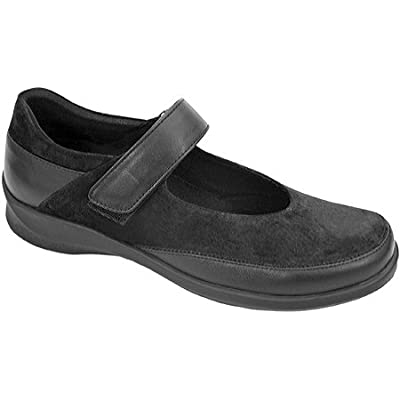 Aetrex Grace Black Women's Shoes