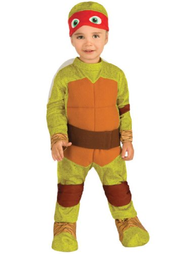 Nickelodeon Ninja Turtles Raphael Romper Shell and Headpiece,