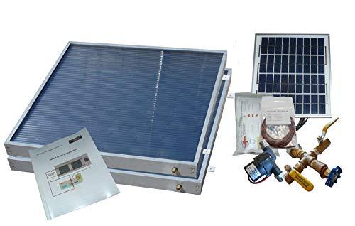 Complete 2 Panel Hybrid Solar Water Heater Kit