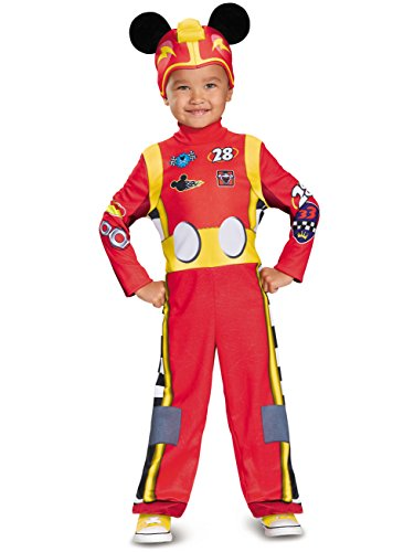 Mickey Roadster Classic Toddler Costume, Multicolor, Large (4-6)]()