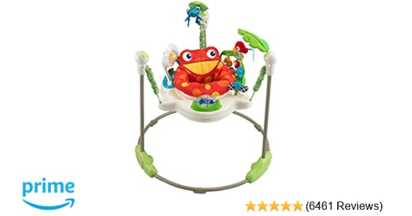 9c3d3de1a Amazon.com   Fisher-Price Rainforest Jumperoo   Infant Bouncers And ...