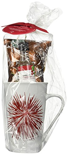 Starbucks Grande Ceramic Mug with Limited Edition Design and Logo (17.8-ounce), House Blend Coffee, and Peppermint Syrup