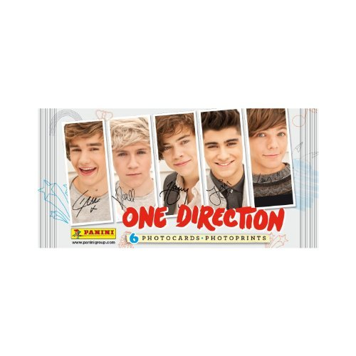 1D ONE DIRECTION PHOTOCARDS PACK OF 6 CARDS WITH CHECKLIST