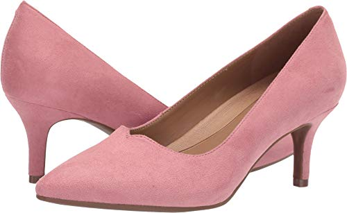 Aerosoles A2 Women's Anagram Pump, Pink Fabric, 8.5 M US