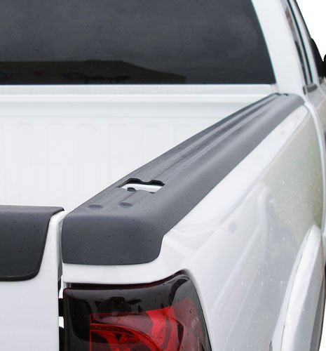 Stampede BRC2004 Black Rail Topz Bed Rail - Pickup Ram Tailgate Cap 3500