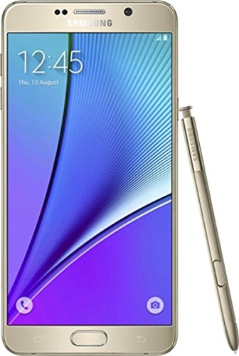 Samsung Galaxy Note 5 N920i 64GB (FACTORY UNLOCKED) GSM - International Version no warranty 4G LTE (Gold)