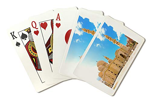 (Mosque in Alexandria, Egypt - Photograph A-90082 (Playing Card Deck - 52 Card Poker Size with Jokers))