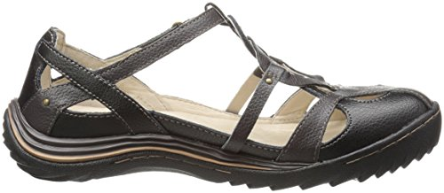 Earth Spain Jambu Women's Black Flat z5HAITq