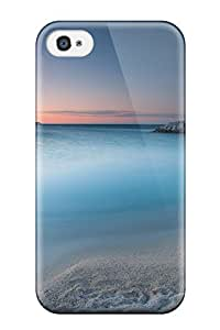 Renee Jo Pinson's Shop Best Hot Case Cover Protector For Iphone 4/4s- Morning Beach 5732649K55617945