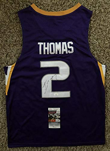 Isaiah Thomas Autographed Signed Washington Huskies Jersey JSA COA #2 Wizards Celtics NBA !