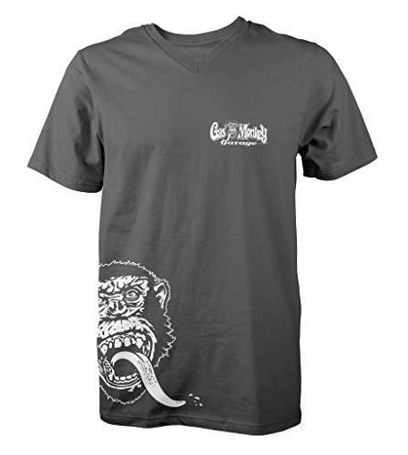 shirt Side Monkey T Garage Gas Grigio CIWUqwtt