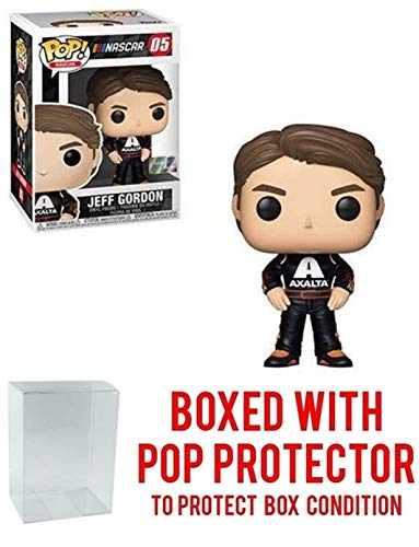 POP! Sports Nascar Jeff Gordon Action Figure (Bundled with Pop Box Protector to Protect Display Box)