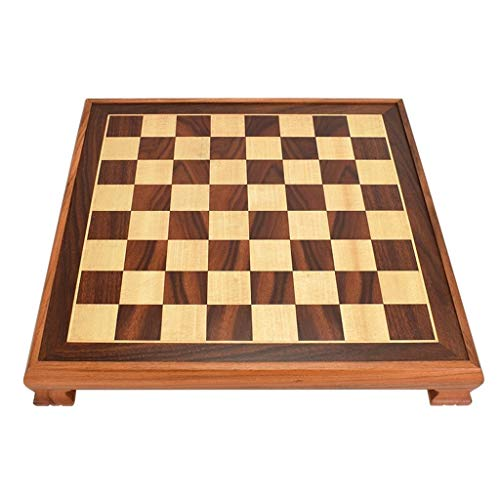 (ZWS Creative International Chess Wooden Chess Board Kids Intellectually Development Learn Toys Checkers Chess 3 Colors Optional Intellectual Game (Color : C))