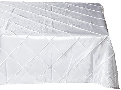 Pintuck Square - LinenTablecloth Square Pintuck Overlay, 72