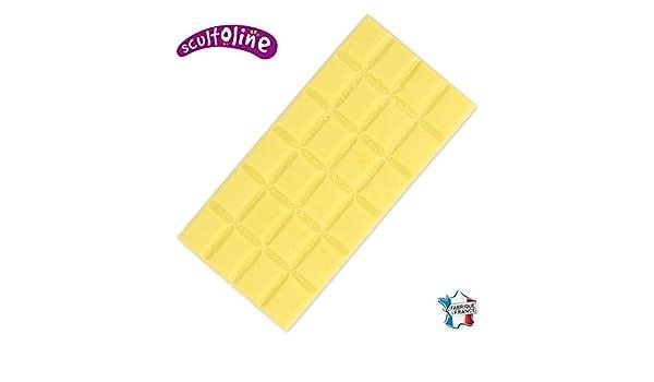 Scultoline Tableta de Matera para fundir Amarillo x120gr: Amazon.es: Juguetes y juegos