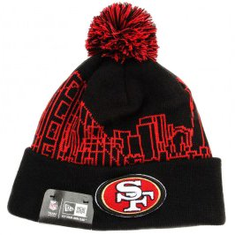 9179bb1ee89 Image Unavailable. Image not available for. Color  New Era NFL San  Francisco 49ers Knit Hat Skyline Beanie