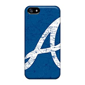 No1cases Iphone 5/5s Scratch Protection Mobile Covers Custom HD Atlanta Braves Series [tRr18038yJFA]