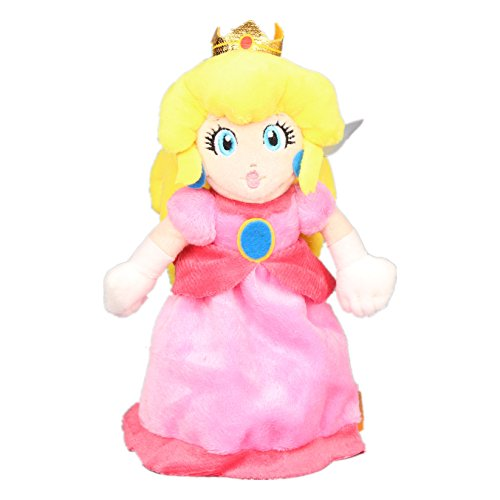 Toy Plush Stuffed 8' Doll (UiUoU Super Mario Bros. Princess Peach Plush Toy Stuffed Doll 8'')