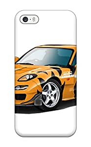 High-end Case Cover Protector For Iphone 5/5s(mazda Rx 30) VKN3ZH5EGHP9N8HK