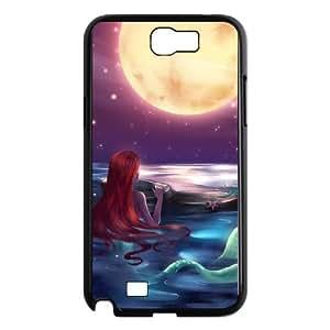 Samsung Galaxy N2 7100 Cell Phone Case Black Disney the little mermaid Ariel T5Q5QV