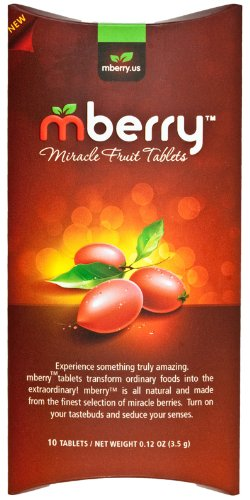 mberry Miracle Fruit Tablets, 10-Count ()
