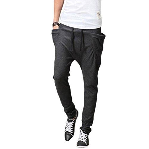 87f07bc8a2 hot sale 2017 ABS-GMX Men's Sport Cotton Pants Harem Pants Korean Style  Trousers Sweatpants