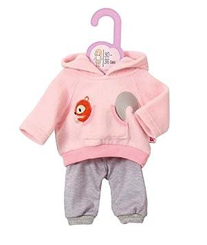 Zapf Creation Dolly Moda Pyjama Teddy 38-46 cm Babypuppen & Zubehör Rosa
