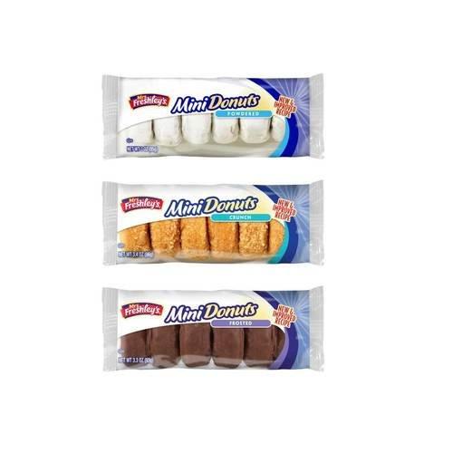 Mrs Freshleys Variety Mini Donuts - 72 per pack -- 1 each. by Mrs. Freshley's