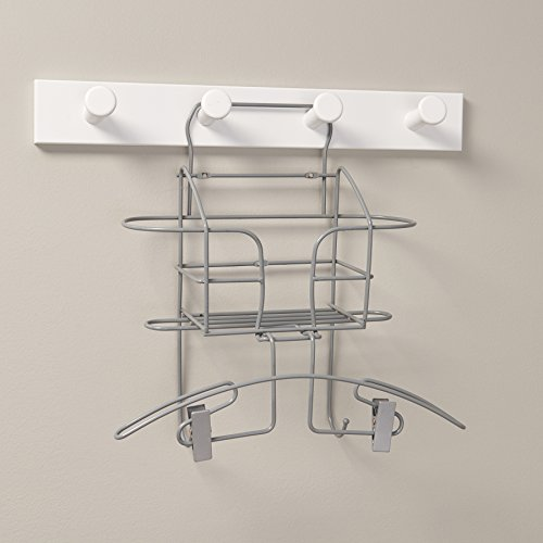 HOMZ Finishing Station with Steaming Hanger and Storage Bask