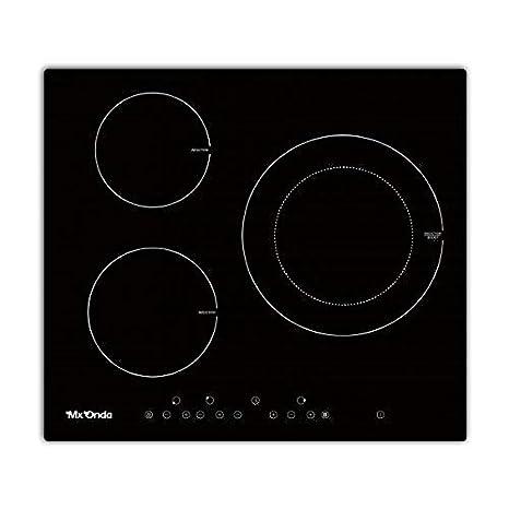 Placa de induccion tres zonas Mx onda PI2230: Amazon.es ...
