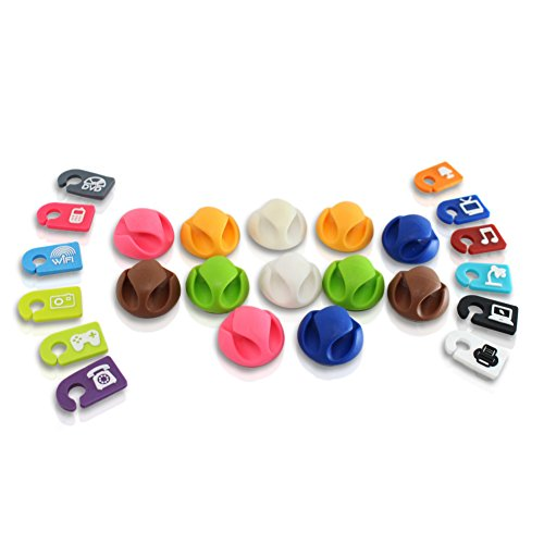 Cutehom Cable Clips Cord Organizer
