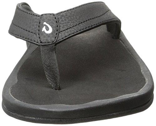 Olukai Ohana Sandale - Frauen Schwarz Schwarz