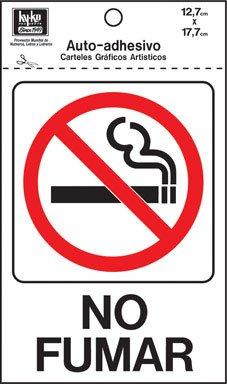 SIGN NO FUMAR 5