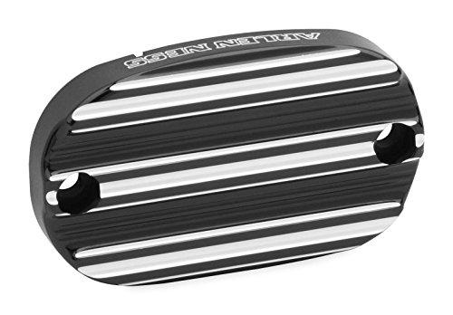 Arlen Ness Black 10-Guage Rear Master Cylinder Cover 03-231
