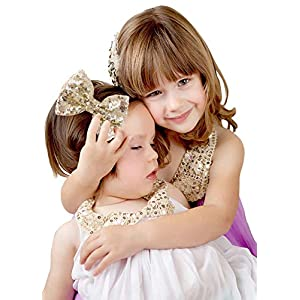Love Fairy Fashion Bow Hairpin Sequins Hair Clip Multicolor 0ptional for Baby Girls Toddler Kids and Women