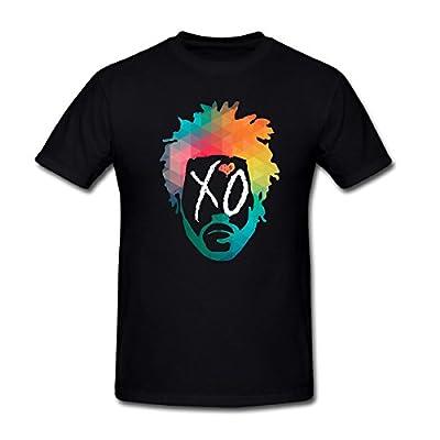 SEagleo2 Men's Abel Tesfaye The Weeknd XO T-Shirt Sizes S-3XL