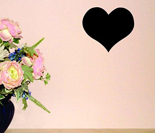 Black Design with Vinyl Moti 1577 1 Heart Love Peel /& Stick Wall Sticker Decal 12 x 12