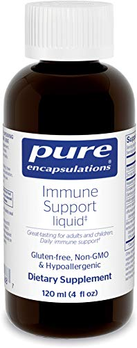 Pure Encapsulations - Immune Support Liquid - Daily Immune Support for Adults and Children* - 120 ml. (4 fl. oz.)