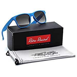 Kids Soft Frame Sunglasses AGE 3-12 - Blue