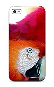 Fashion CPBZnKV8896LsnsP Case Cover For Iphone 5c(parrots Widescreen)