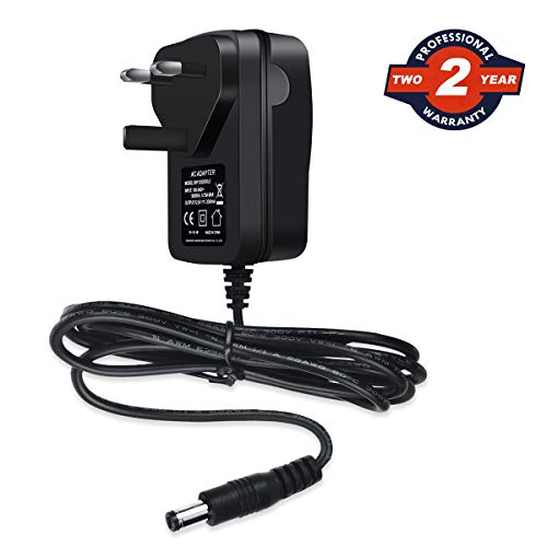 Ablegrid 12V 2A AC/DC Adapter with UK Plug for Router CCTV IP Camera LED...