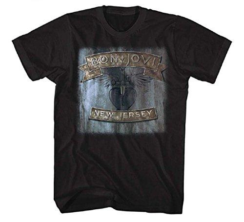 Bon Jovi Official New Jersey' T-Shirt for Men