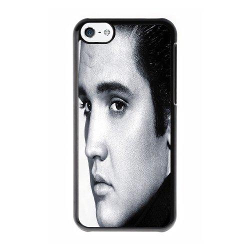 Coque,Coque iphone 5C Case Coque, Elvis Presley Cover For Coque iphone 5C Cell Phone Case Cover Noir