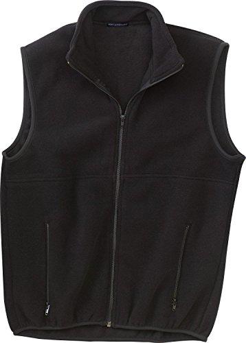Port Authority Men's R-Tek Fleece Vest. JP79 M Black