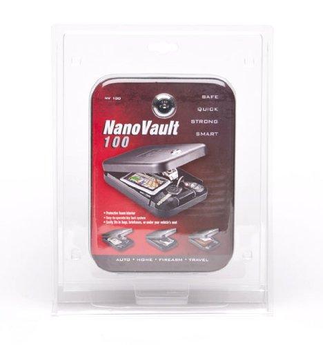 GunVault Nanovault 100 Nano Pistol Safe NV100