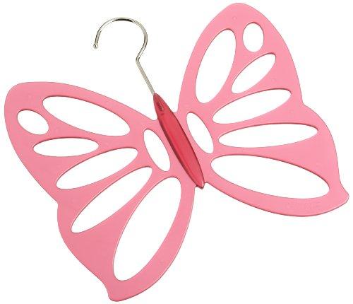 Schildkraut Butterfly Scarf Hanger, Pink